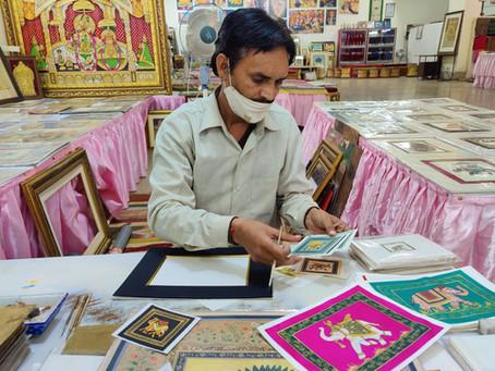 Pratha Samvad with Mr. Gajanand: a Jaipur-based Miniature Artist