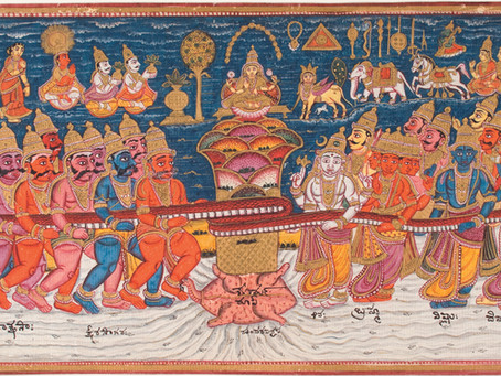 Why is Samudra Manthan the Grandest Event in Hindu Mythology?
