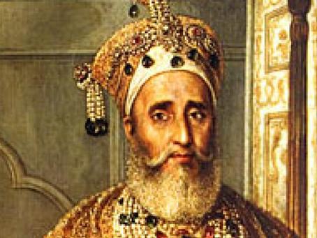 Life of Mughal Emperor Bahadur Shah Zafar through his Poems