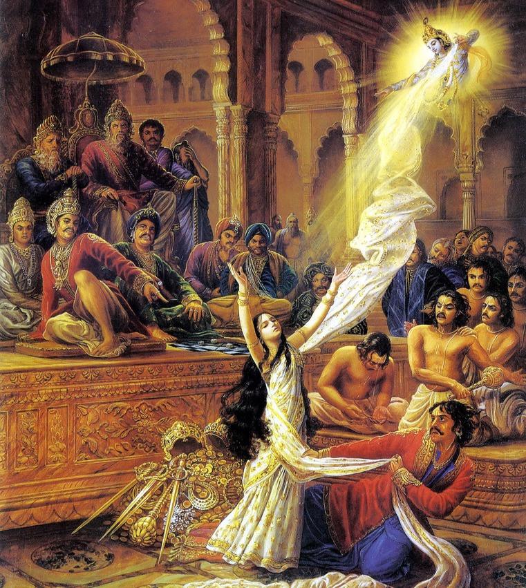 Draupadi-disrobing-mahabharata