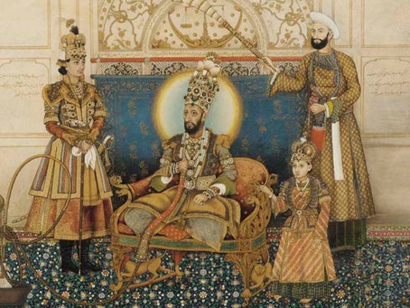 Connecting Dots between the Kings in Exile: Bahadur Shah Zafar and Thibaw Min