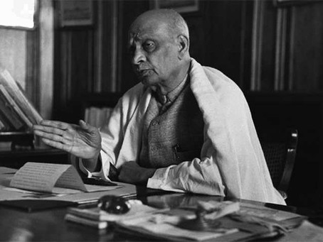 Sardar Vallabhbhai Patel's Journey From the Fields to the Parliament