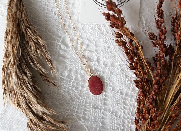 Large Oval Keepsake Necklace 14K Gold Filled