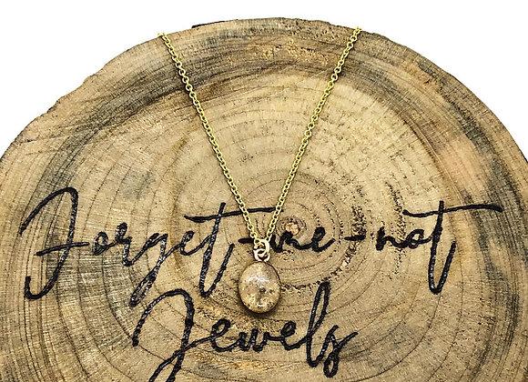 Small Oval Keepsake Necklace 14K Gold Filled