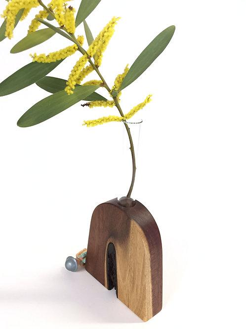Kerosene - test tube vase - home decor