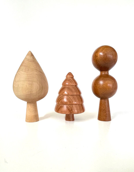 cotoneaster, redgum, mahogany