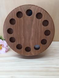 round cherry clock