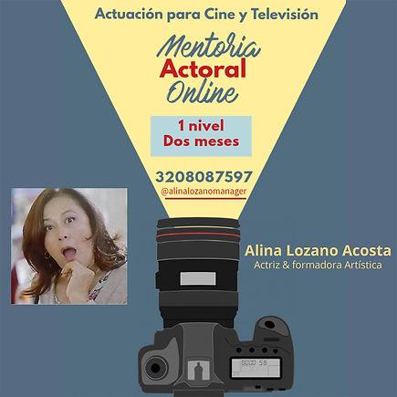 Mentoria actoral para cine y tv-Alina Lo