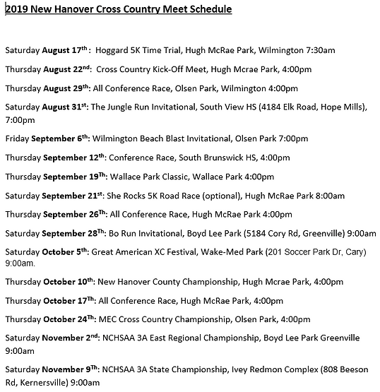 NHHS CC Schedule 2019.png