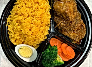 YELLOW RICE. Seasoned Turmeric-Flavored