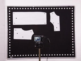 digitizer camera of pattern pieces for the apparel and furniture industry