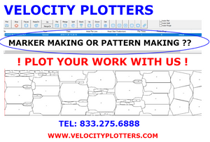 A Picture of the Velocity Control center. Do you need to plot your work with us? Contact us now! 833.275.6888