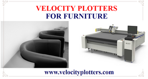 A Picture that shows Velocity Plotters is used in the Furniture Industry