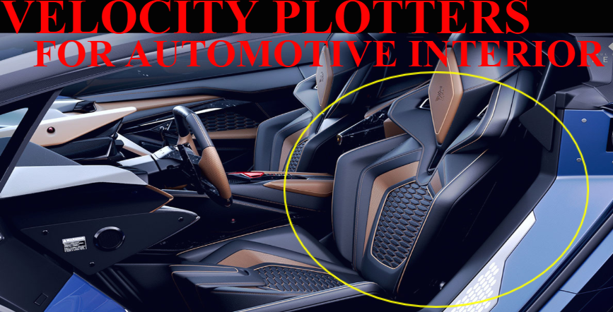 A picture that shows that Velocity Plotters works with the automotive interior industry
