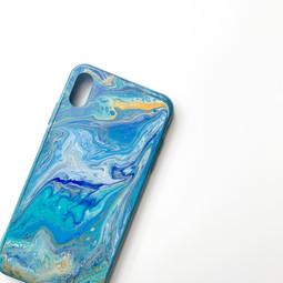 Acrylic Pour Phone Case