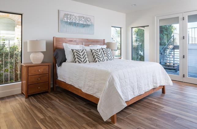Light Airy White Master Bedroom Natural Light