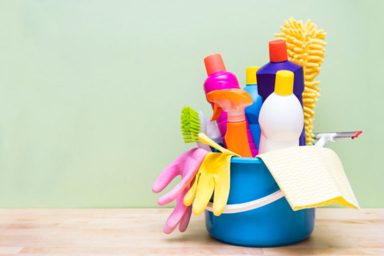 Deep clean your home twice a year