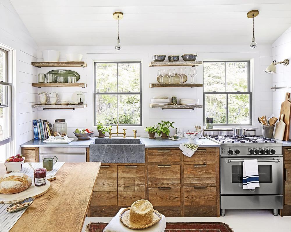 Natural light kitchen
