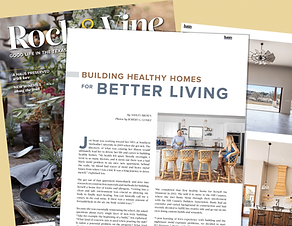 Rock & Vine Magazine Features Jen Rusty Stout JS2 Partners Healthy Home Builders