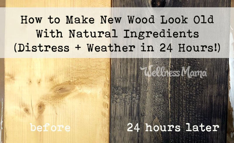 How to Make New Wood Look Old With Natural Ingredients