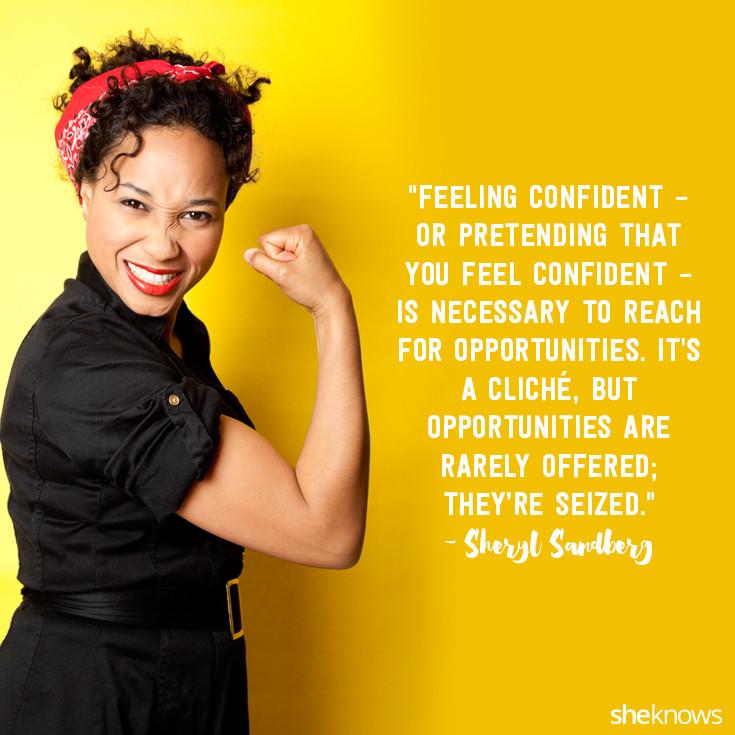 Feeling Confident