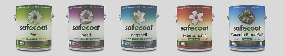 AFM safecoat paint non toxic healthy home builders js2 partners