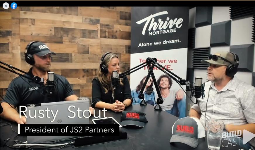 Rusty Stout JS2 Partners BUILDcast podcast interview