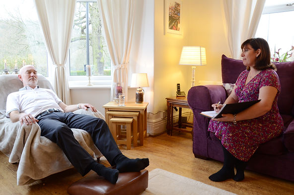 A hypnotherapy session in Millhouses, Sheffield