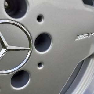 Алмазная шлифовка полки Mercedes