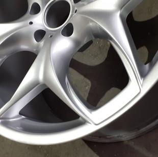 Локальная покраска диска BMW