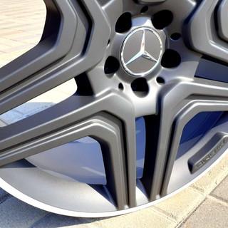 Алмазная шлифовка закраины Mercedes Benz