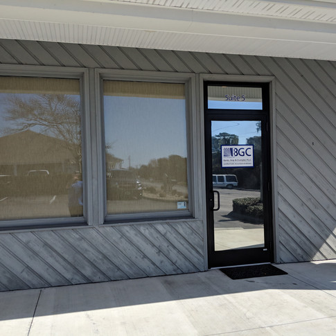 Emerald Isle Window tinting