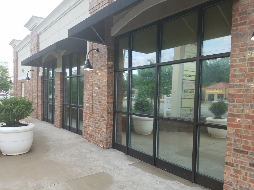 Restaurant Window tint Greenville, NC