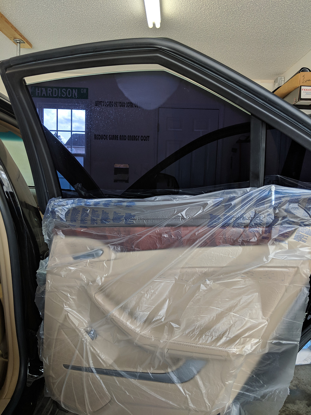 NC window tint law