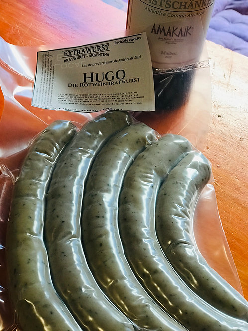"Nuestra nueva Bratwurst ""Hugo"""