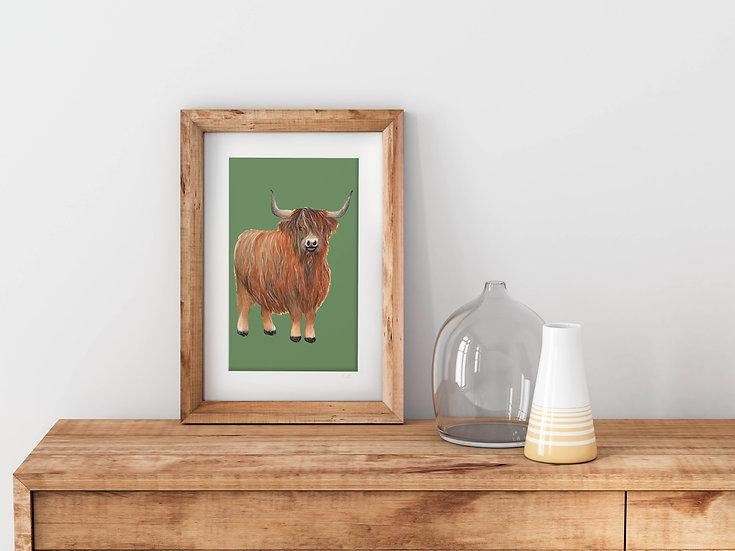 'Big Robbie' Fine Art Print