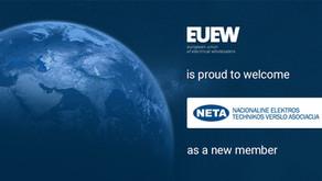 NETA Lithuania joins EUEW