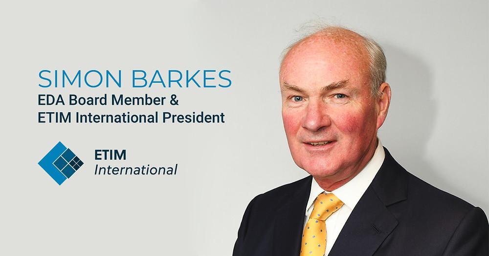 Simon Barkes - ETIM President