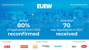 The EUEW Annual Business Convention is still confirmed for November 2021