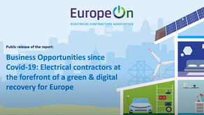 EuropeOn Releases Report on Business Opportunities since COVID-19 for electrical contractors