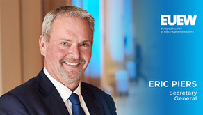 Eric Piers is appointed as Secretary General of the EUEW