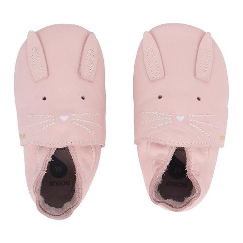 Bobux Soft Sole Coniglietto rosa