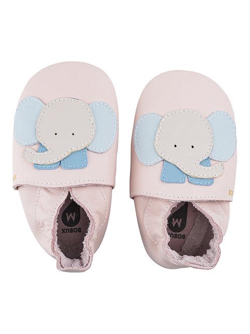 Bobux soft sole Elefante rosa