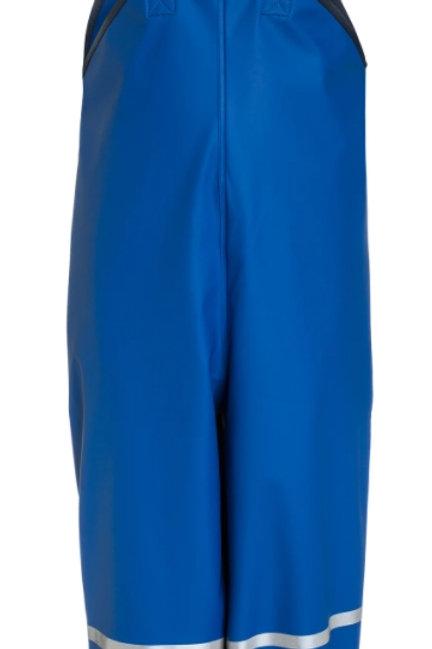 Pantaloni da pioggia con bretelle avio