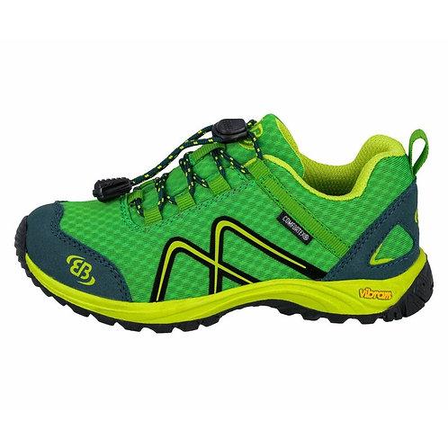 Guide Low scarpe outdoor verde chiusura rapida