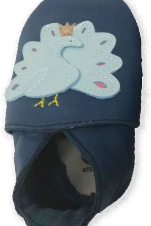 Bobux Soft Sole Pavone blu