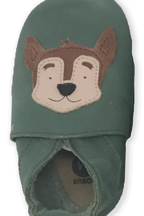 Bobux soft sole Cane verde