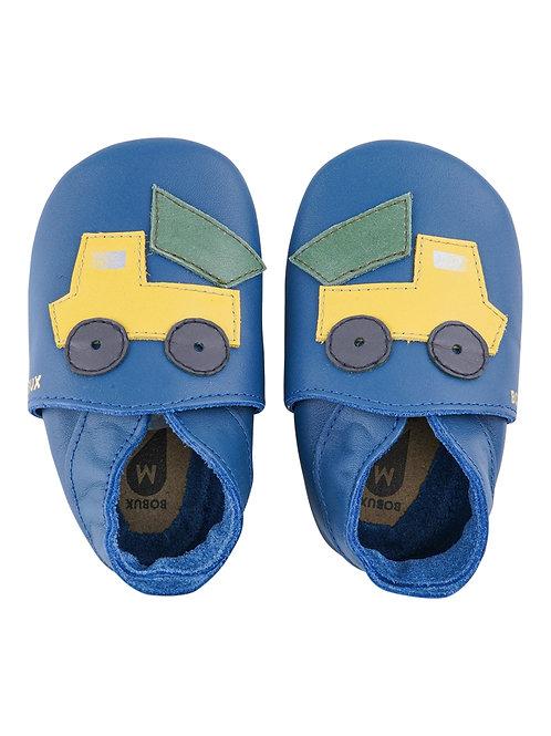 Bobux soft sole Camion blu
