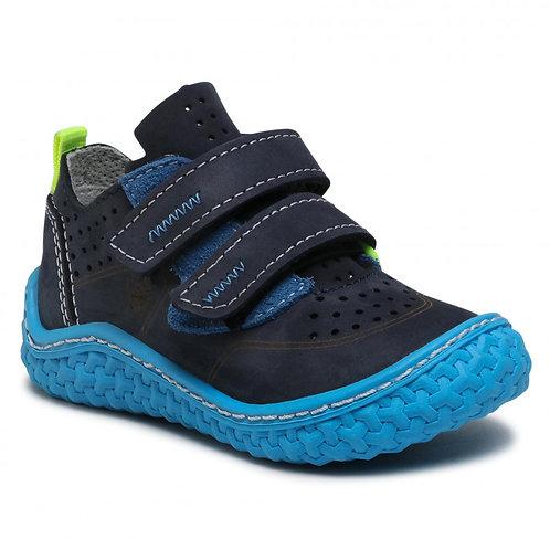 Pepino Chapp scarpe in pelle sfoderate camminata naturale chiusura velcro