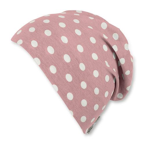 Sterntaler berretto jersey cotone rosa pois 1422042-81
